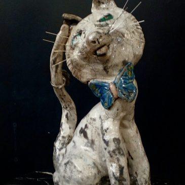 Chat déjanté