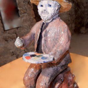 Le peintre de Saint Guilhem