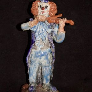 Clown violoniste