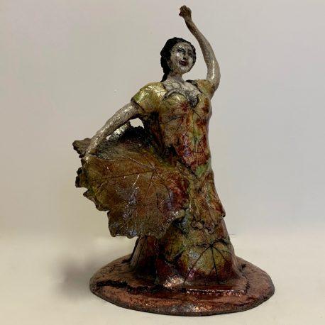 Flamenco des vignes face droite vue du bas 900-900