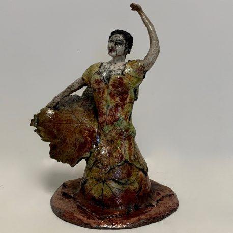Flamenco des vignes face gauche 900-900