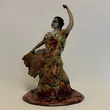 Flamenco des vignes face gauche haut 900-900